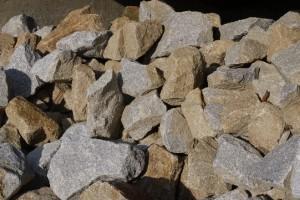 Wasserbausteine/Granitbruch